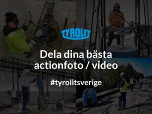 Dela dina bästa actionfoto / video